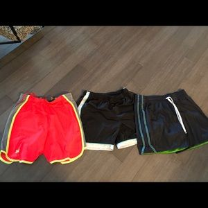 Pants - 3 athletic shorts (including Under Armour & Nike)